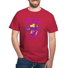 Happiness is yelling bingo!!! T-Shirt