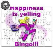 Happiness is yelling bingo!!! Puzzle