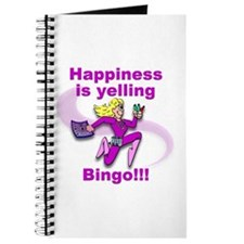 Happiness is yelling bingo!!! Journal