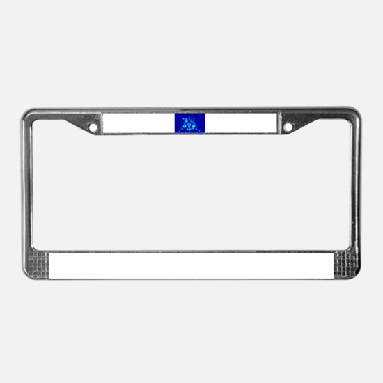 Eagle Apollo Lunar Module License Plate Frame