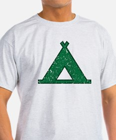Vintage Camping Style T-Shirt