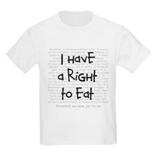 Right to eat Kids T-Shirt