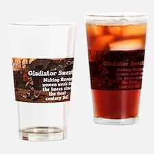 Funny Athletics Drinking Glass