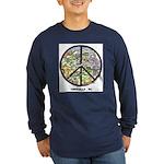 Peace Asheville pick your color Long Sleeve Shirt