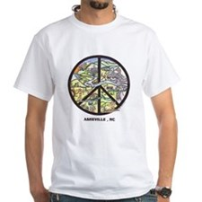 Awesome Asheville , Nc Peace Sign Shirt