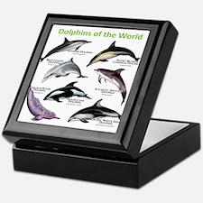 Dolphins of the World Keepsake Box