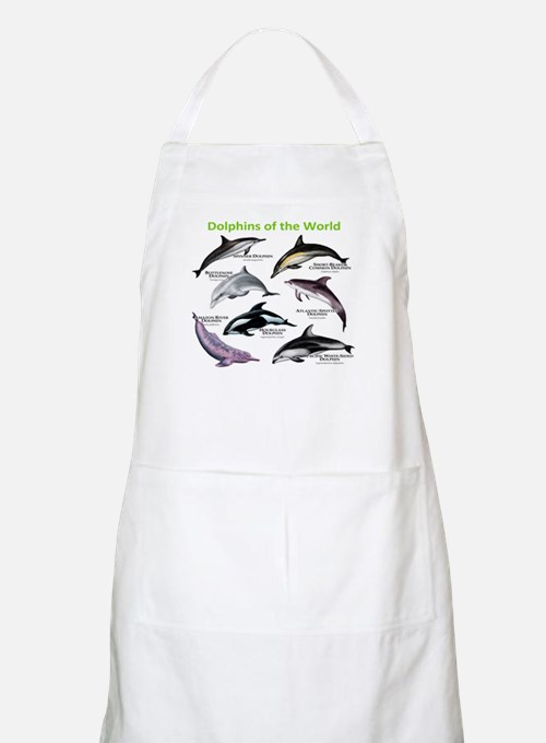 Dolphins of the World Apron