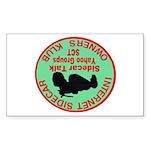 Alanpennykid 'OZ' Rectangle Sticker