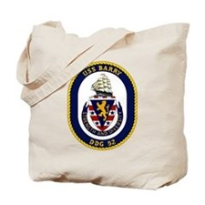 USS Barry DDG 52 Tote Bag