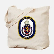 USS Barry DDG 52 Tote Bag