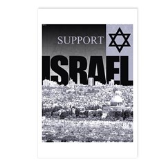 Support Israel Postcards (Package of 8)