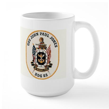 USS John Paul Jones DDG 53 Large Mug