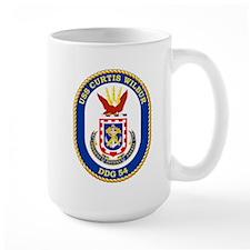 USS Curtis Wilbur DDG 54 Mug
