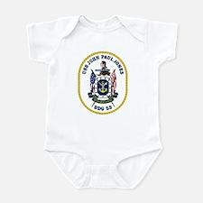 USS John Paul Jones DDG 53 Infant Creeper