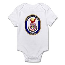 USS Curtis Wilbur DDG 54 Infant Creeper