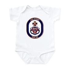USS Stout DDG 55 Infant Creeper