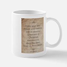 Saint Augustine Mug