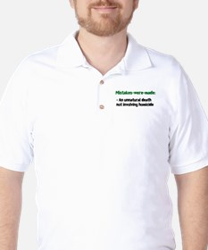 Mistakes were made definition T-Shirt