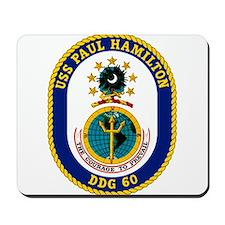 USS Paul Hamilton DDG 60 Mousepad