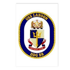 USS Laboon DDG 58 Postcards (Package of 8)