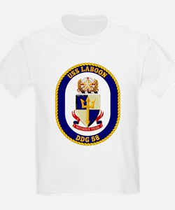 USS Laboon DDG 58 Kids T-Shirt