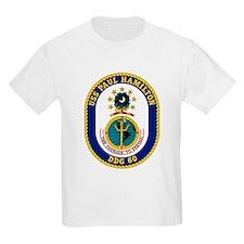 USS Paul Hamilton DDG 60 Kids T-Shirt