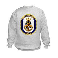 USS Mitscher DDG 57 Sweatshirt