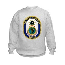 USS Paul Hamilton DDG 60 Sweatshirt