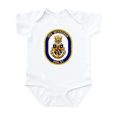 USS Mitscher DDG 57 Infant Creeper