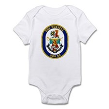 USS Russell DDG 59 Infant Creeper