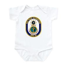 USS Paul Hamilton DDG 60 Infant Creeper