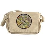 Excellent Asheville , Nc Artwork Messenger Bag