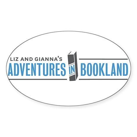 Liz and Giannas Adventures in Bookland Sticker