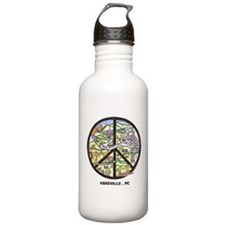 Awesome Asheville Art Water Bottle