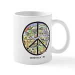 Cool Coffee Break Hip Asheville , Nc Art Mug