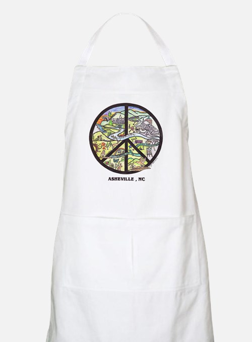 Cool Cooks wear Asheville Aprons ! Original Art