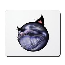 Bad Kitty Mousepad