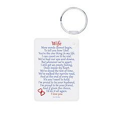 Wife Love Keychains