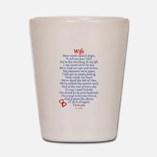 Wife Love Shot Glass