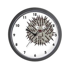 Blow Fish Wall Clock