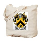 Shaw coat of arms Canvas Bags