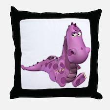 Baby Dragons: Smoky Throw Pillow
