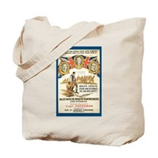 Vintage Jewish British-Canada Tote Bag