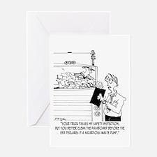 Dashboard Dump Greeting Card