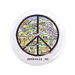 "Cool Peace Asheville , NC Original Art 3.5"" B"
