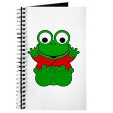 Sagittarius Cartoon Frog Journal