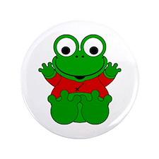 "Sagittarius Cartoon Frog 3.5"" Button (100 pack)"