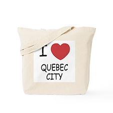 I heart quebec city Tote Bag