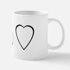peace, love. mama milk Mug