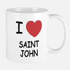 I heart saint john Mug